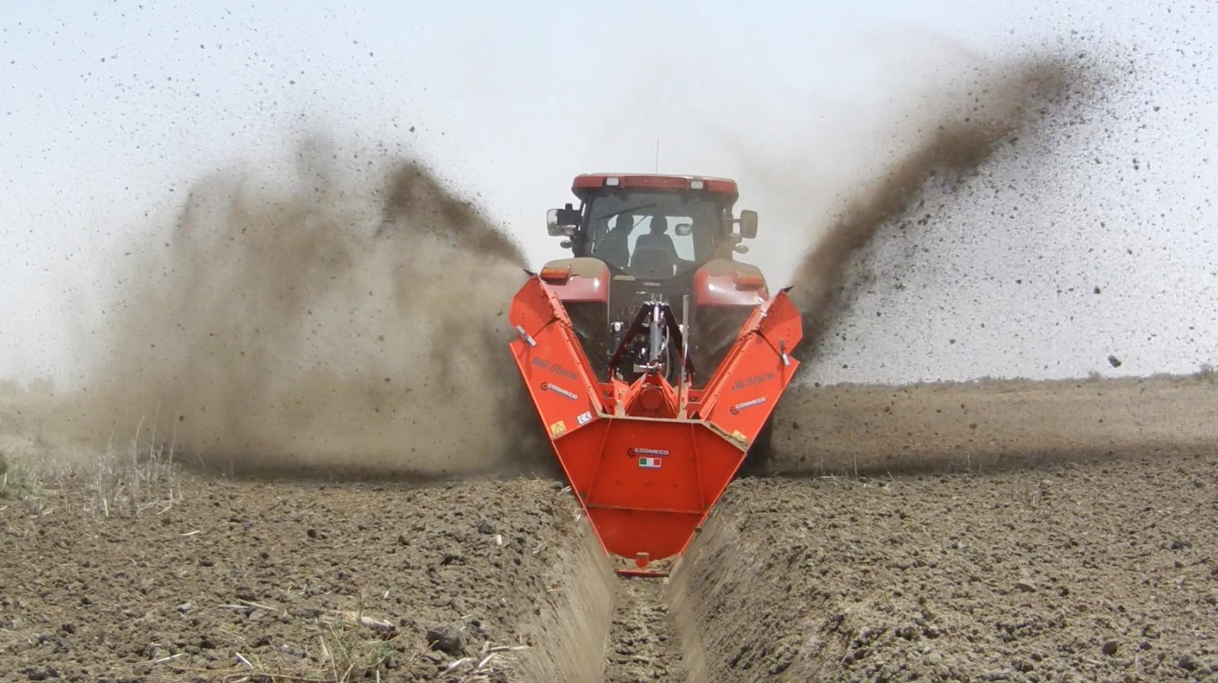 Double Wheel Ditcher BIG STORM | Products | COSMECO S.r.l.