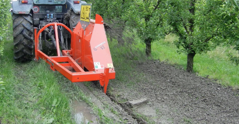 Vertical Ditchers for vineyards