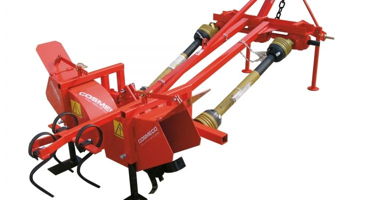 Adjustable Ridger for greenhouses