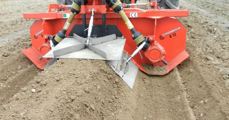 Butteuse réglable pour terrains humides