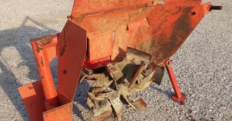 Scavafossi monoruota COSMECO usato mod. MINI 35B
