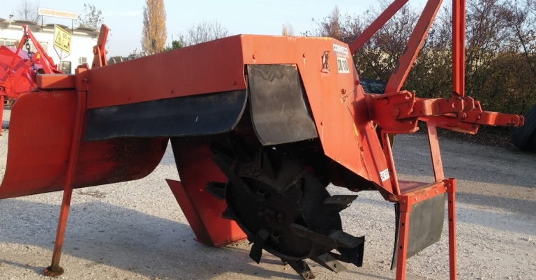 used single-wheel ditcher CM 110 Cosmeco