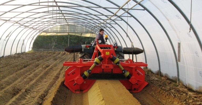 Progettazione di macchinari per l'orticoltura