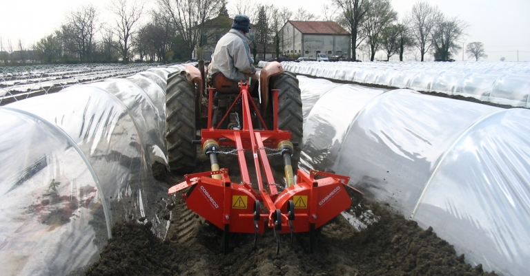 Machinery for land preparation