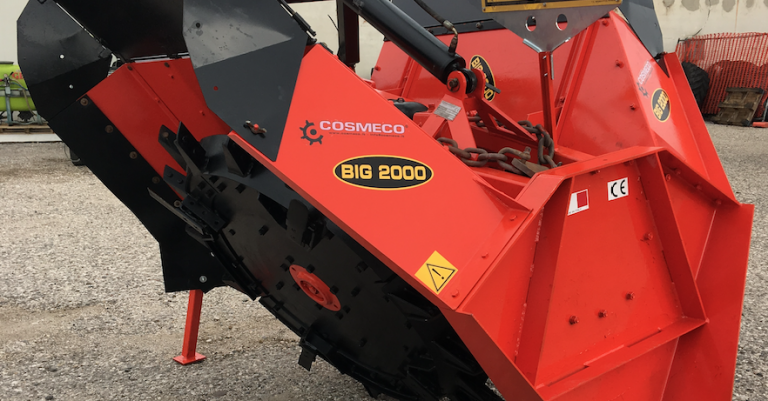 DOUBLE WHEEL ditcher COSMECO second hand