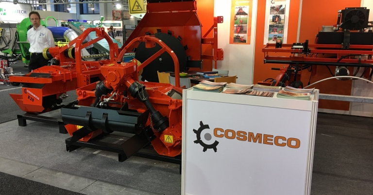 Stand Cosmeco per Fruit Logistica 2018