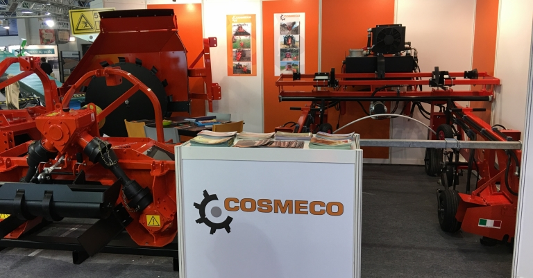 Cosmeco stand per Fruit logistica 2018