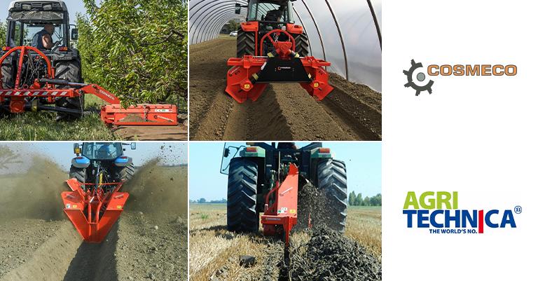 Cosmeco presenta le sue attrezzature agricole all'Agritechnica