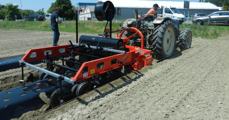 Sale of agricultural equipment
