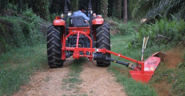 Single Wheel Ditchers with Side Arm
