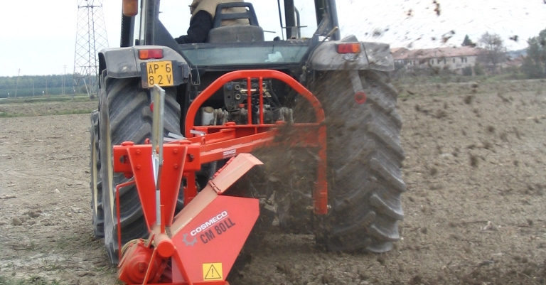 Bilateral Single Wheel Ditchers CM 80LL