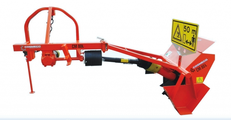 Single Wheel Ditchers with Side Arm CM 80L